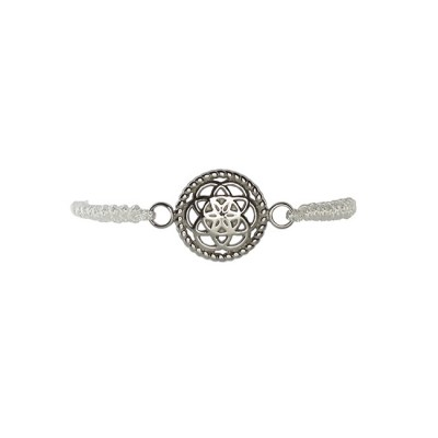 TFBS02SSWH-traumfaenger-armband-blume-stahl-kordel-weiss1
